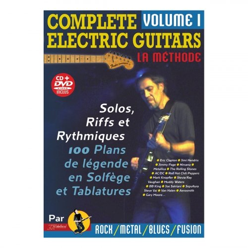 Complete electric guitars volume 1 - CD et DVD