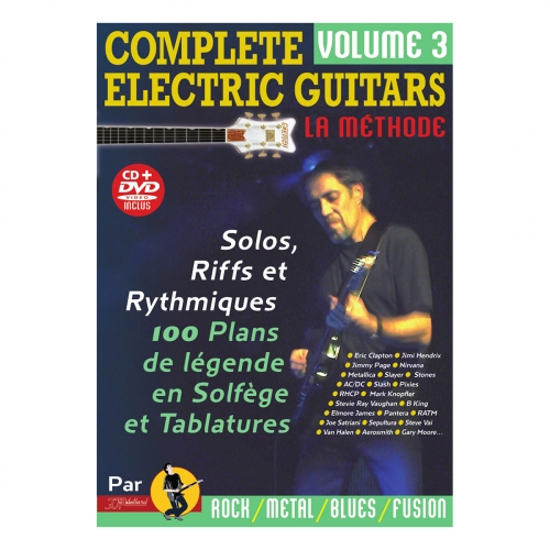 Complete electric guitars volume 3 - CD et DVD