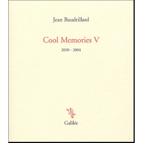 Cool Memories - Tome V, 2000-2004