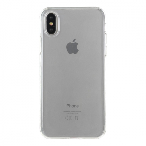 Coque semi-rigide transparente pour iPhone X - Big Ben