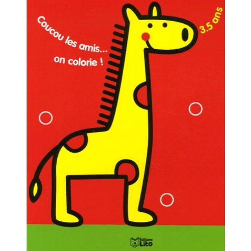 Coucou les amis... on colorie ! - Girafe