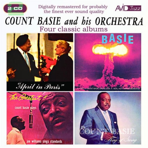 COUNT BASIE : FOUR CLASSIC ALBUMS