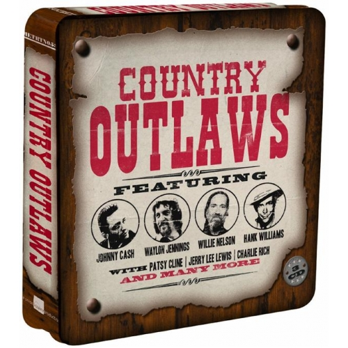 Métal Box 3 CD - « Country Outlaws »
