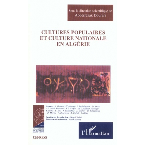 Cultures populaires et culture nationale en Algérie