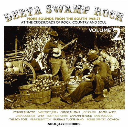 DELTA SWAMP ROCK 2 - MORE SOUNDS FROM THE SOUTH 1968-75: AT THE CROSSROADS OF RO