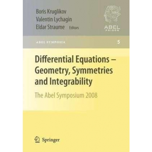 Differential Equations-Geometry, Symmetries and Integrability