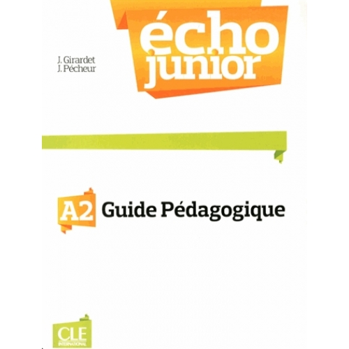 Echo Junior A2 - Guide pédagogique