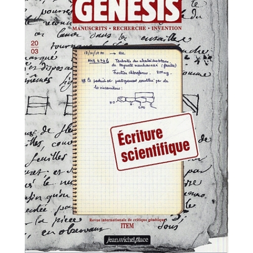 Genesis N° 20/3 - Ecriture scientifique