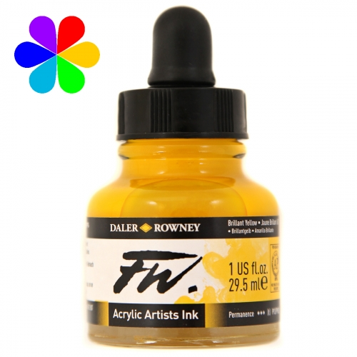 Encre Artists FW 29.5ml Brilliant Yellow