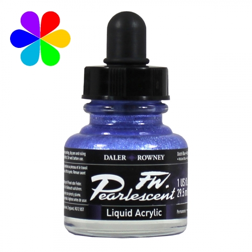Encre Pearlescent 29.5ml bleu hollandais