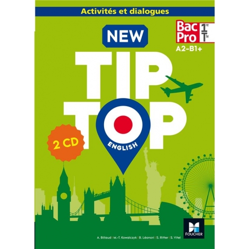 English 1re/Tle Bac Pro New Tip Top