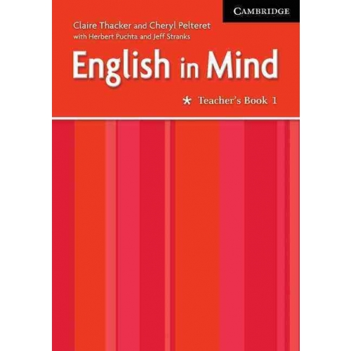 English in Mind Level 1 Teacher's Book