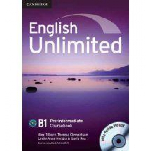 English Unlimited Pre-intermediate Coursebook with E-Portfolio