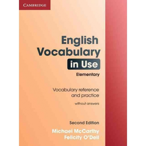 English vocabulary in use - Elementary without answers