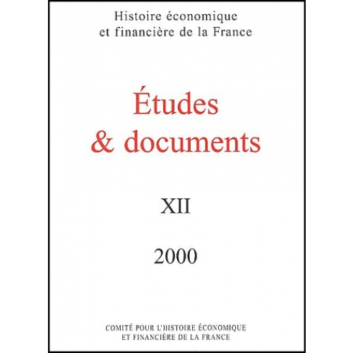 Etudes & documents N° 12/2000