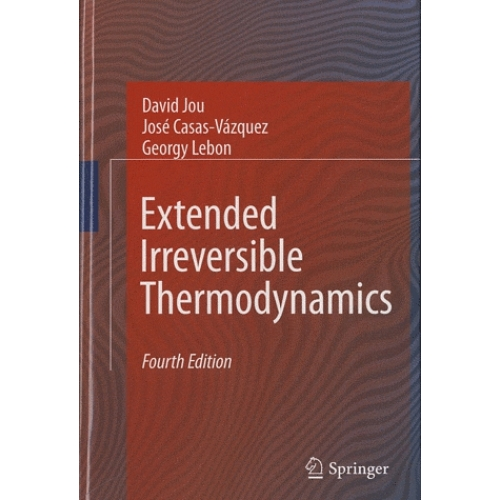 Extended Irreversible Thermodynamics.