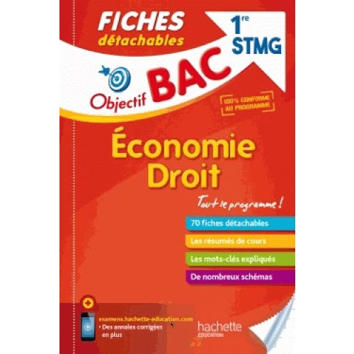 Economie droit 1re STMG