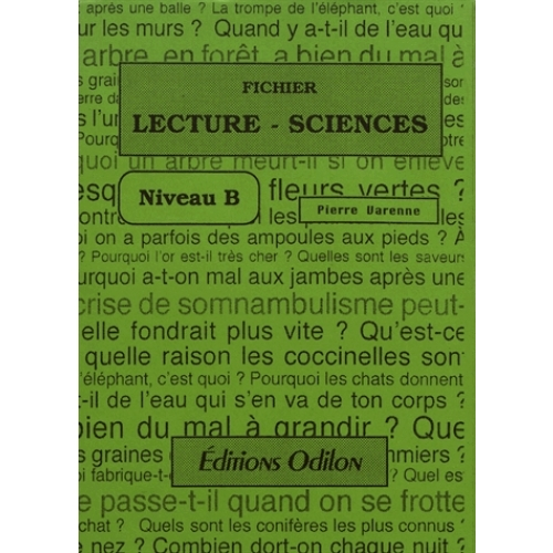 Fichier Lecture-Sciences