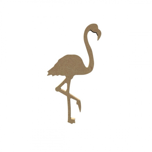 Support médium - Flamand rose - 15 cm