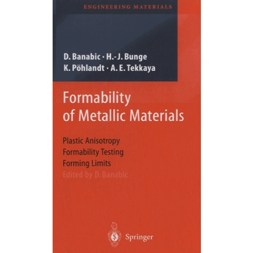 Formability of Metallic Materials