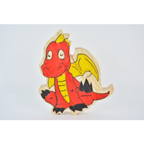 OFFICIEL - KIDS Déco d'objets Dragon Puzzle