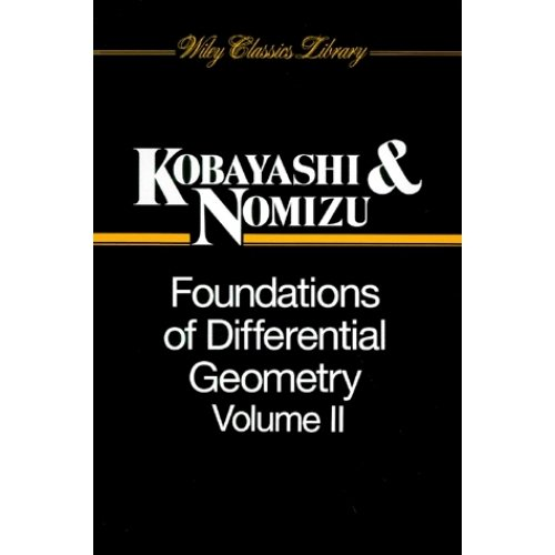 FOUNDATIONS OF DIFFERENTIAL GEOMETRY. Volume 2