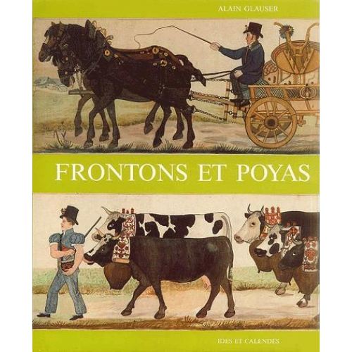 Frontons et poyas