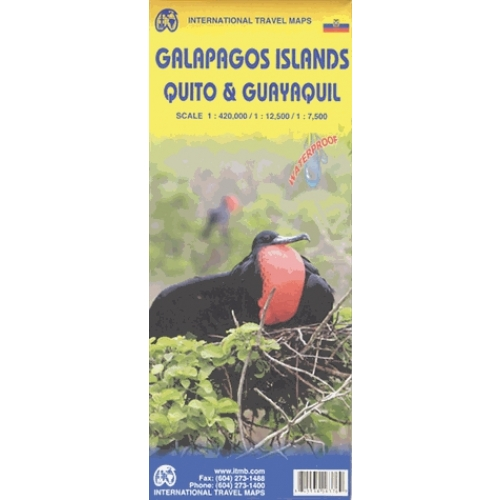 Galapagos islands, Guayaquil & Quito - 1/ 4200 000