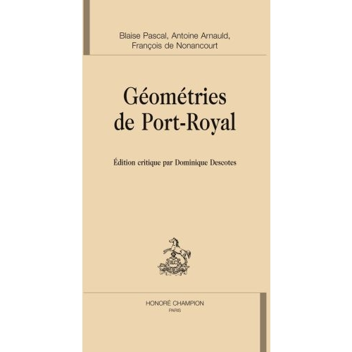 Géométries de Port-Royal
