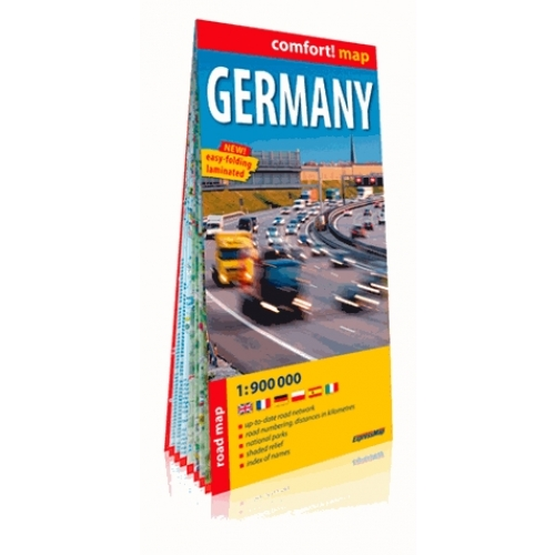 Germany - Road Map 1/900 000