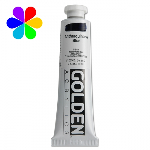 Acrylique Golden - 59 ml - bleu anthracite - S7