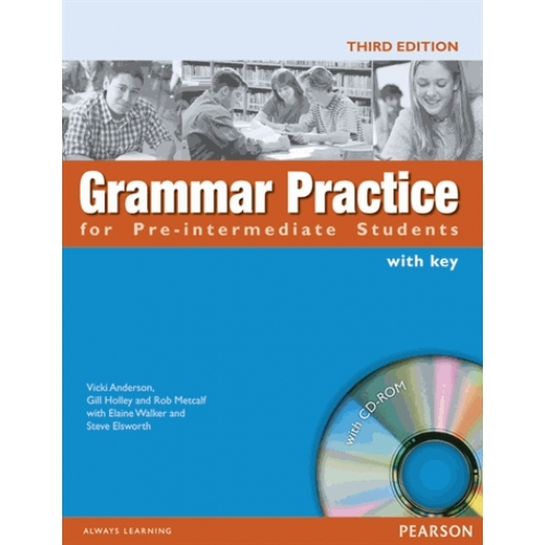 Grammar practice PRE INTERMEDIATE book with key and cd rom
