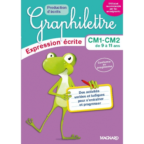 Graphilettre CM1 CM2 - Production d'écrits