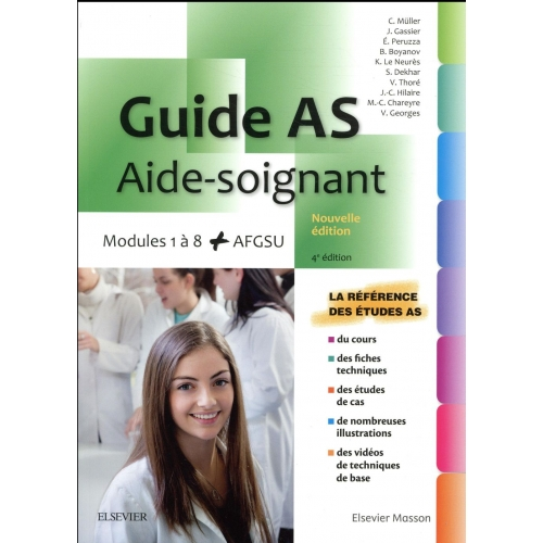 Guide AS - Aide-soignant - Modules 1 à 8 + AGFSU
