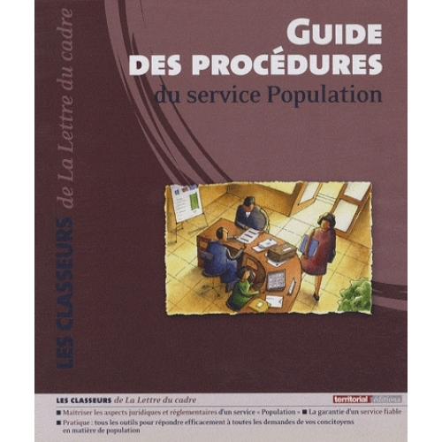 Guide des procédures du service Population CD ROM