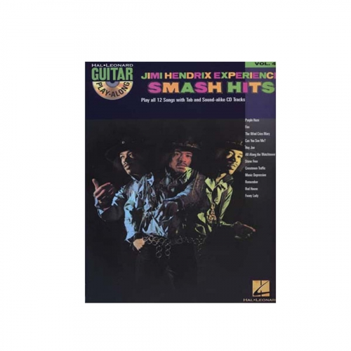 Jimi Hendrix Experience Smash Hits Guitar play-along vol.47