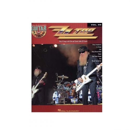 ZZ Top Guitar play-along vol.99