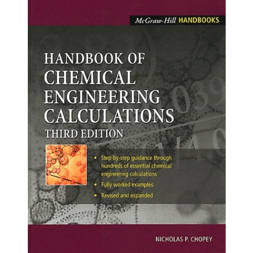 Handbook of Chemical Engineering Calculations.