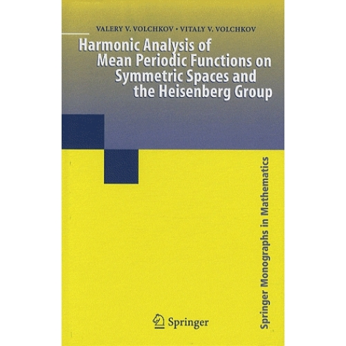 Harmonic Analysis of Mean Periodic Functions on Symmetric Spaces and The Heisenberg Group