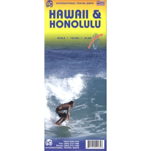 Hawaii & Honolulu - 1/150 000