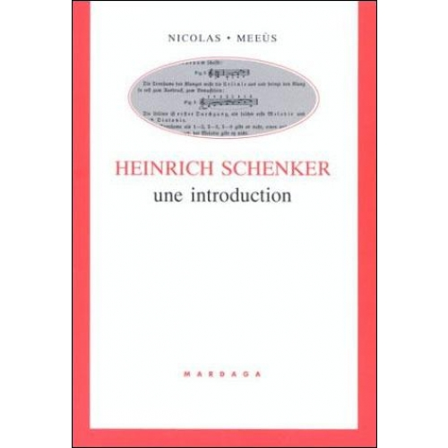 Henrich Schenker. Une introduction