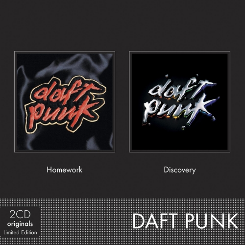 Coffret 2CD - Daft Punk - Homework & Discovery