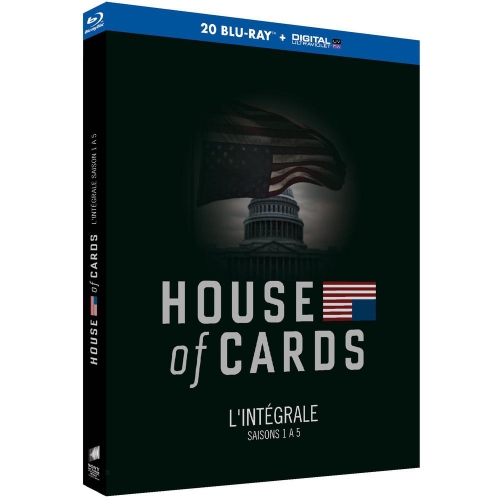 HOUSE OF CARDS - SAISONS 1 A 5