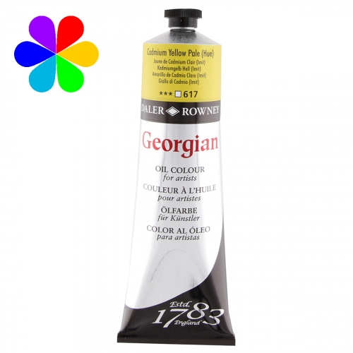 Huile super-fines Georgian 225ml Cadmium Yellow Pale (Imit)