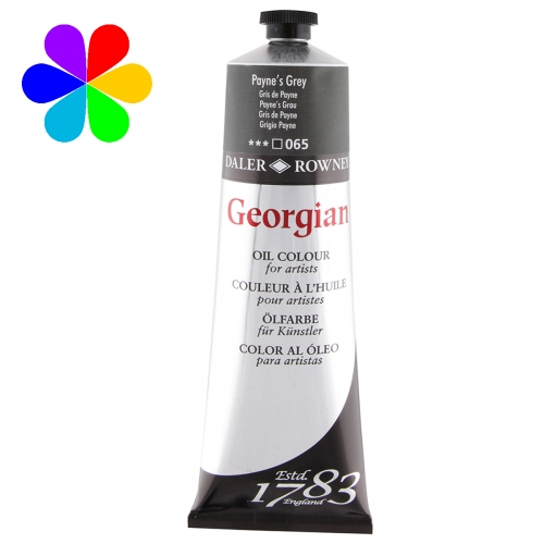 Huile super-fines Georgian 225ml Paynes Grey