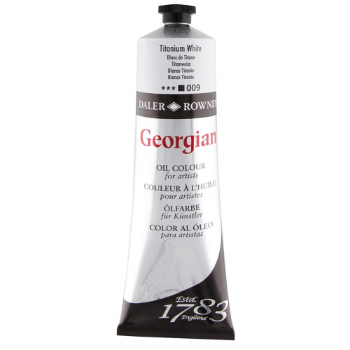 Huile super-fines Georgian 225ml Titanium White