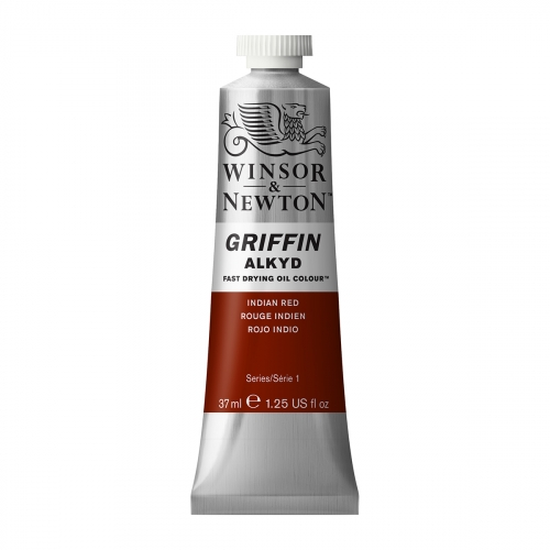 Tube d'huile Griffin 37ml - 317 rouge indien - Winsor & Newton