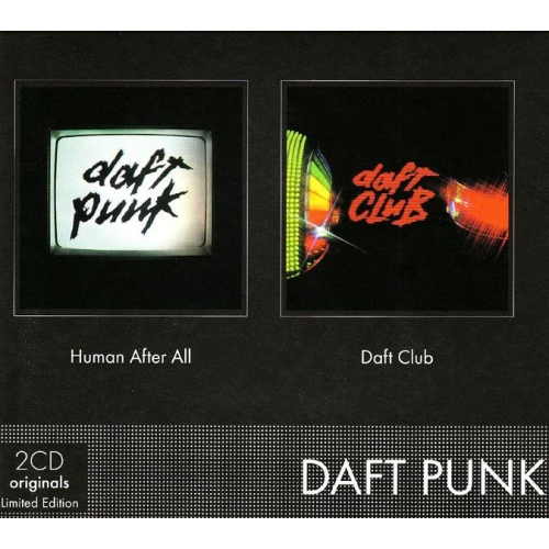 Coffret 2CD - Daft Punk - Human After All & Daft Club