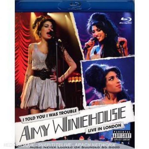 Amy Winehouse : I Told You I Was Trouble - Live in London