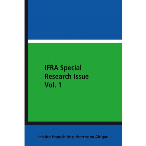 IFRA Special Research Issue Vol. 1